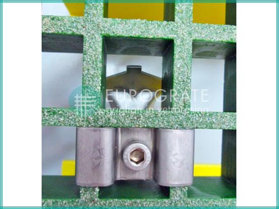 Grating clip accessory