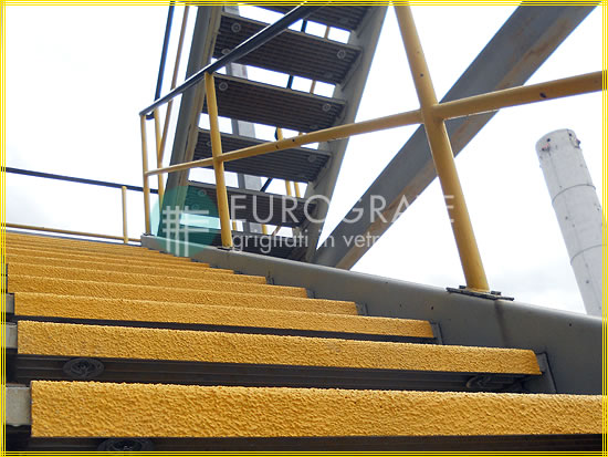 Safety edges for standard stair treads
