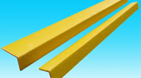 GRP safety edges fibreglass anti-slip stair nosing