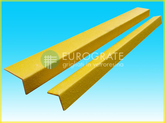 Safety edges product for industrial stairs