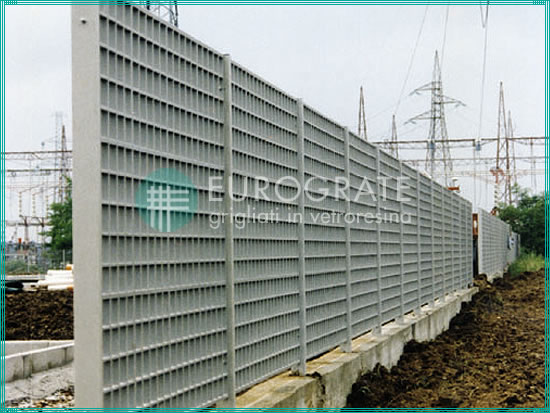 mesh fencing installed in electrical substations