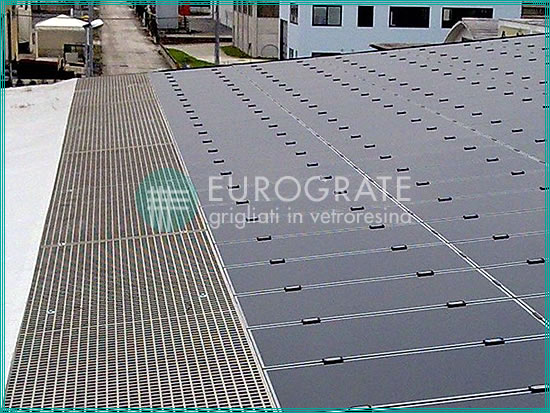 gratings for renewable energy installations