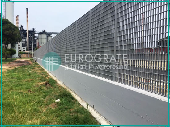 industrial fencing in the electricity sector