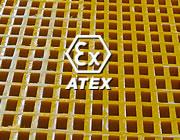 Atex anti-static conductive gratings conduttivi