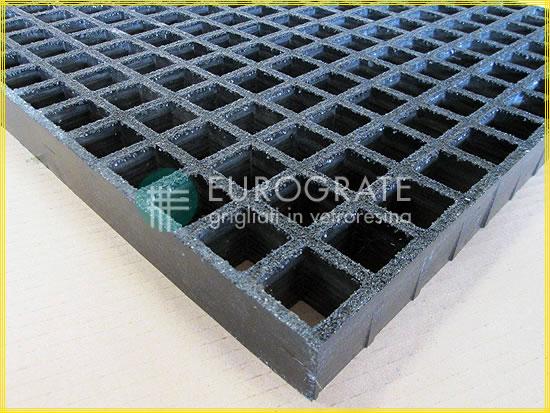 Conductive gratings mesh colour black