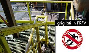 Metal gratings vs GRP gratings