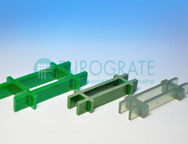 open gratings with rectangular mesh