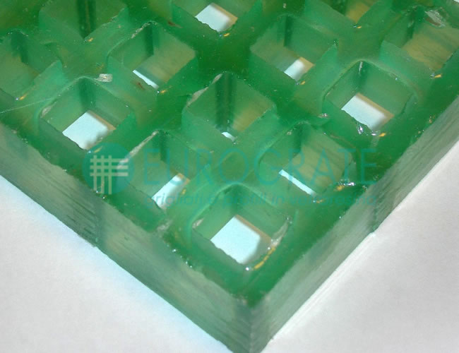 Grating with Translucent Resin