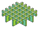 Micro square open mesh moulded grating