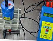 Gratings tested with measuring instruments