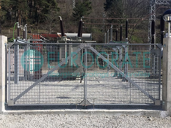 industrial fencing and automatic gates made to measure