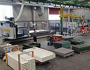 5 axis CNC machine for gratings production