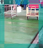 fiberglass flooring