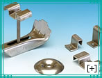 Stainless steel grating clips for fixing grates
