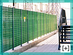industrial GRP fencing FRP fence