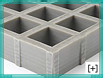 moulded gratings with phenolic resins
