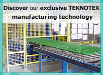 Factory manufacturing fiberglass gratings, GRP fencing, vertical ladders and stairs