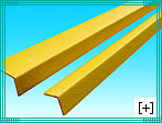 Safety edges for industrial ladders and stairs