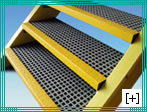 grating stair treads with 19 x 19 h 40 mesh