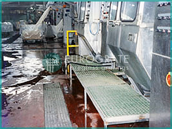 grates installed in the textile industry