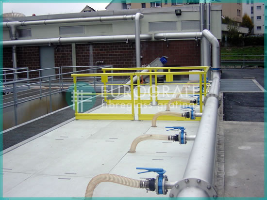 fiberglass safety handrails